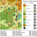 Fantasy Apocalypse Campaign Map