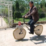 Multi-angle bicycle